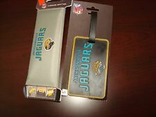 Luggage Spotters NFL JACKSONVILLE JAGUARS 2PC ID Spotter SUITCASE Accessorie NEW