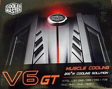 Cooler Master V6 GT - CPU Cooler New in original box FREE SHIPPING