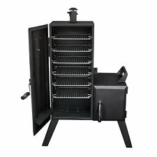 Offset Smoker Vertical Charcoal Grill Cooker Wood Chip Vertical BBQ Racks NEW