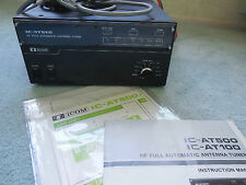ICOM AT500 HF full automatic antenna tuner & all manuals