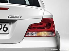 BMW 1-SERIES COUPLE E82 2007-2012  M3 Style Boot Lip Spoiler UK Seller