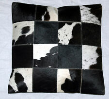 New Cowhide Hair on Leather Cushion Cover/ Cushion Case/ Pillow Cover(15x15)Z 1