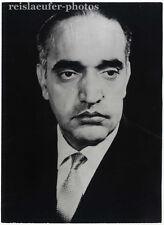 Mohammed Hashem Maiwondwal, Afghanischer Premier, Original-Photo von 1967.