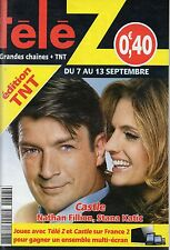 TELE Z N°1617 nathan fillion stana katic