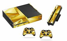 Gold union Jack Sticker/Skin xbox one Console,Kinect & Remote controllers,x1sk11