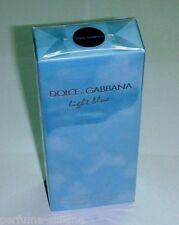 Dolce & Gabbana LIGHT BLUE for WOMEN EDT 100ml 3.4oz 100% Original & Sealed NIB*