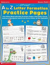 AlphaTales: A to Z Letter Formation Practice Pages: Fun-filled Reproducible Prac