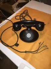 antique western electric telephone vintage phone No Dial