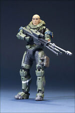 Halo reach jun unhelmeted series 6 action figure McFarlane Toys