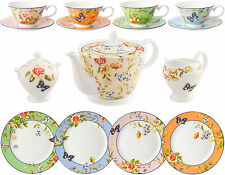 AYNSLEY COTTAGE GARDEN 15 PIECE TEA SET (MIXED COLOURS) - NEW/BOXED