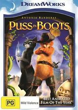 Puss In Boots (DVD, 2014)