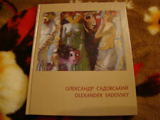 """OLEXANDER SADOVSKY ""Ukrainian Art book album ,works"