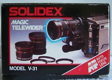 Solidex Magic Telewider Video Conversion Lens Model V-31
