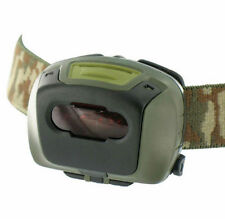 MILITARY TACTICAL HEAD TORCH RED FILTER BRITISH ARMY SURVIVAL LAMP HIKING CADET