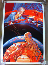 "Mondo poster ""Elysium"" by Martin Ansin - Amazing detail and color!!!  SDCC 2013"