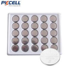 50 pcs PKCELL  Lot of CR2032 2032 cr 2032 3v Lithium Batteries Bulk Coin Cell