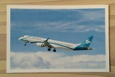 Air Dolomiti Airlines Embraer 195 E95 Ejet LH Postcard Lufthansa Top!