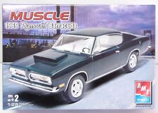 AMT 1969 PLYMOUTH BARRACUDA model kit 1/25 scale - Sealed Parts MIB