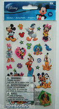 Disney ~MICKEY MOUSE & FRIENDS~ Flat Stickers, EK SUCCESS; Disneyland World Trip