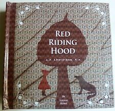 The Riding Hood, pop up book, libri per bambini, pop up,
