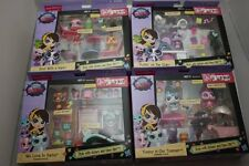 LITTLEST PET SHOP THEMED PACK LOT 4 PLAYSETS NEW 2014 LUCKY BROWNE PEPPER CLARK~