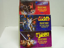 VINTAGE STAR WARS QUIZ WIZ ELECTRONIC QUESTION & ANSWER GAME-EPISODES 4-5-6 1997