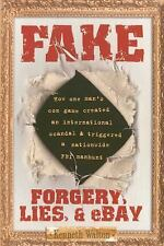 NEW Fake: Forgery, Lies, & Ebay by Kenneth Walton Paperback Book (English) Free