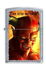 Zippo 5025 devil care to be my friend Lighter
