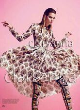 Dolce & Gabbana AUTH Dreamy Romantic Pink Organza Baroque Sacred Heart Dress 44