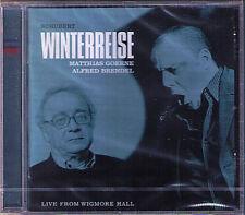 Matthias GOERNE & Alfred BRENDEL: SCHUBERT Winterreise CD WIGMORE HALL LIVE 2003