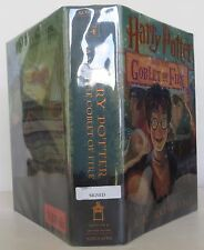 J.K. ROWLING HARRY POTTER AND THE GOBLET OF FIRE SIGNED EARLY PRINTING