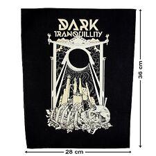 DARK TRANQUILLITY - Construct - Backpatch - Rücken-Aufnäher - Neu - #232