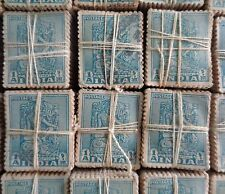 100 Stamps Lot 1949 - 1 Anna.Bodhisattva Die I ( RARE ) Archaeological series