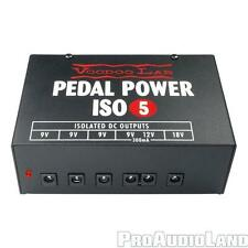VooDoo Lab Pedal Power ISO-5 Pedalboard Power Supply NEW