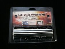 "TRIMBRITE  3"" Black Letter And Number Kit - 119 LETTERS, NUMBERS AND SYMBOLS USA"