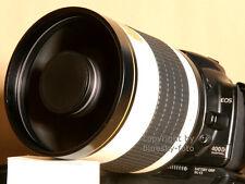 Spiegeltele 800mm 8 F. Nikon d7200 d7100 d7000 d5300 d5200 d5100 d5000 d3200 nuevo