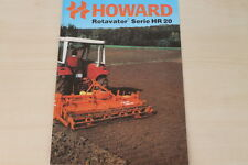 162276) Howard Rotavator HR 20 Prospekt 09/1983