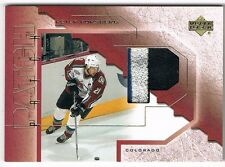 2001-02 01-02 UPPER DECK UD GAME PATCH #P-PF PETER FORSBERG !! 3 COLOR