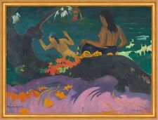 Fatata te miti, by the sea Paul Gauguin mujeres mar playa Baden B a1 02999
