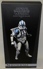 Sideshow Star Wars 1/6 501st Legion Clone Trooper Deluxe Figure