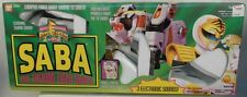 Mighty Morphin Power Rangers Saba White Ranger's Talking Tiger Saber MMPR MIB