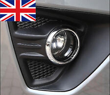 PAIR Ford Focus ST Mk2.5 2009-2011 Chrome Bezel Front Fog Lamp Light Surround