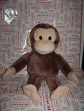 "KOHL'S CARES FOR KIDS CURIOUS GEORGE 15"" MONKEY PLUSH STUFFED ANIMAL BROWN CUTE"