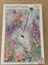 NEW& Sealed Unicorn Fantasy Collection 500Jigsaw Schmidt Puzzle