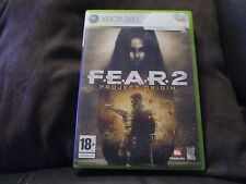 """JEU XBOX360 """"FEAR 2 (F.E.A.R.2)"""" Edition Francaise (XBOX 360)"""