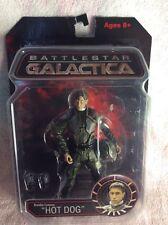"""Nuevo Y En Caja Battlestar Galactica Brendon Costanza """"hot dog"""" Figura"""