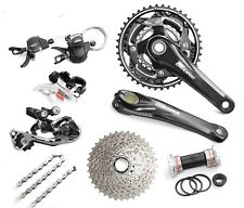 SHIMANO Deore M610 3x10 Speed MTB Groupset 7 pcs, Deore M610 30 Speed Groupset