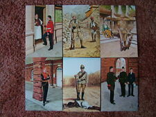 """6 Card Set No 10 Military Postcards """"KIPLING'S SOLDIERS"""". Mint condition."""