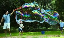 Outdoor Toy The Big Bubble Thing Kids Favourite Play Giant Garden Wand Game