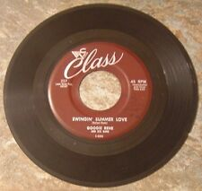 "45 RPM By Googie Rene, ""Swingin' Summer Love"" on Class"